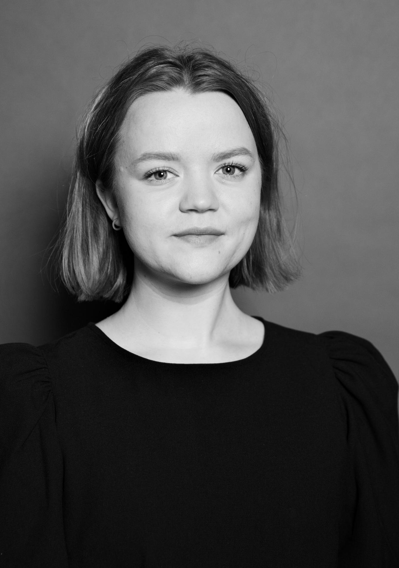 Kristine Våge. Foto © Anna-Julia Granberg, Blunderbuss (2020)