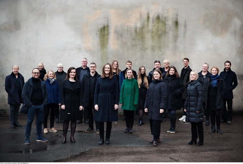 Gruppebilde Ensemble 96. Foto: A. J. Granberg, 2020